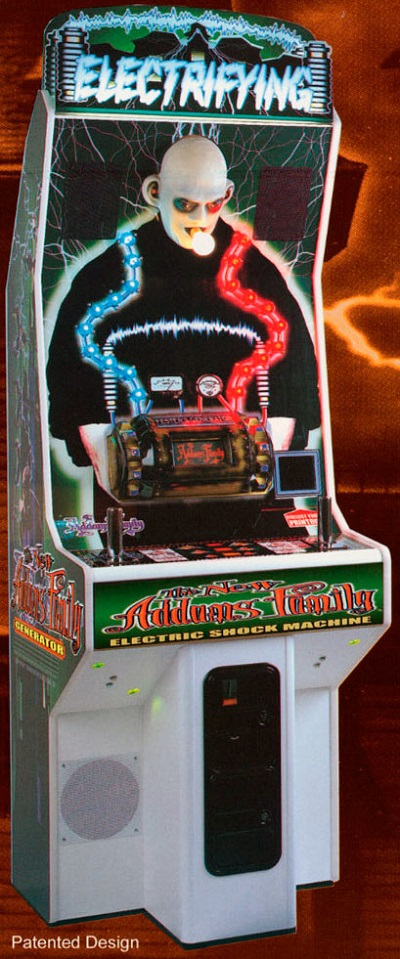 Figure 6: The New Addams Family Electric Shock Machine (Nova Productions, 1999)